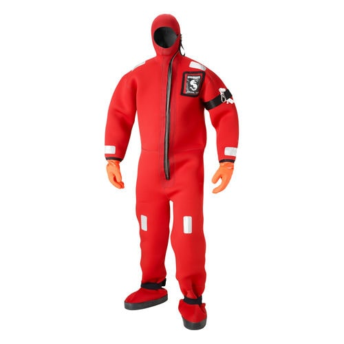 rescue suit / survival / flotation suit / full