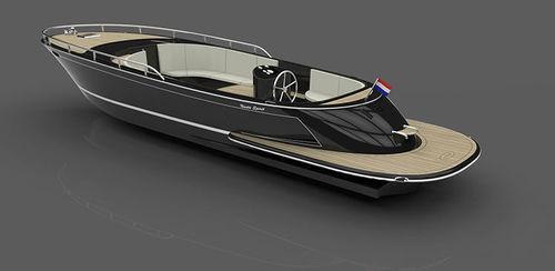 inboard center console boat / electric / diesel / hybrid