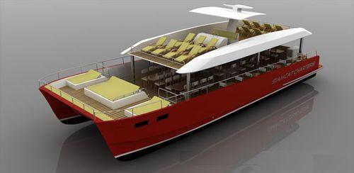 catamaran motor yacht / charter / dive / convertible
