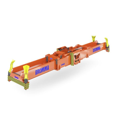 container spreader / twin-lift type / electric