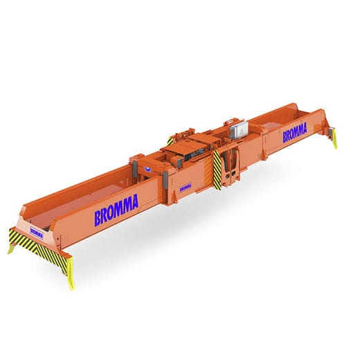 stacking crane spreader