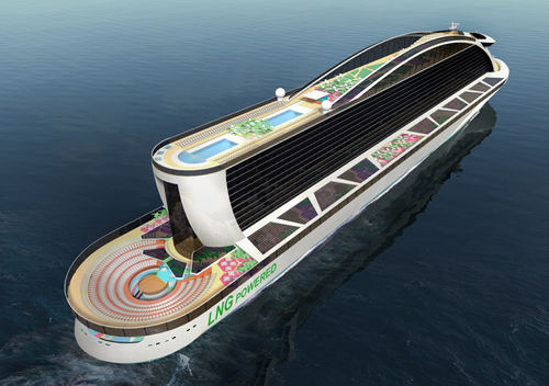 LNG-powered cruise ship