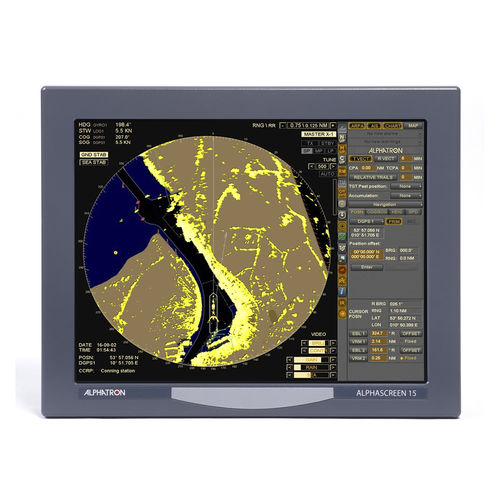 ship radar / ARPA / with charts