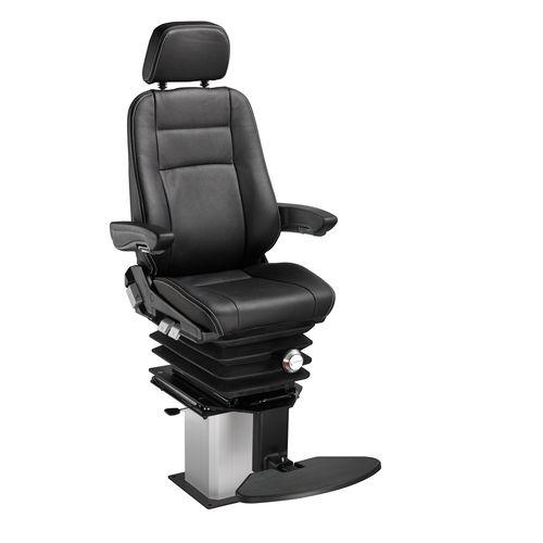 helm seat / for ships / with armrests / adjustable