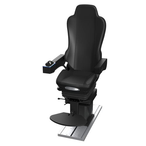 helm seat / for ships / with armrests / with built-in pilot console