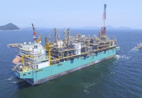 LNG carrier cargo ship
