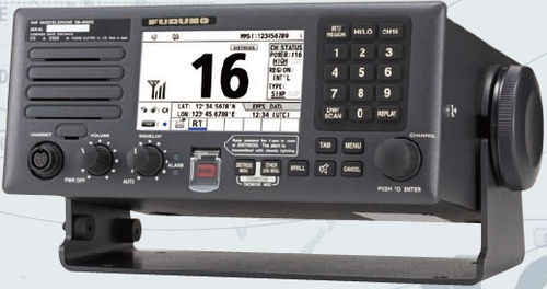 marine radio / for ships / VHF / with DSC