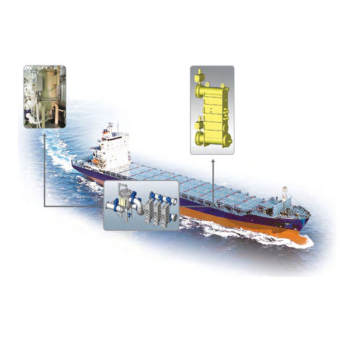 ballast water treatment / for ships / with filter / with UV sterilizer