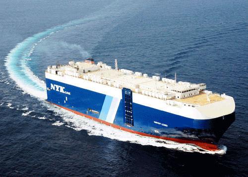 Ro-Ro cargo ship / car carrier