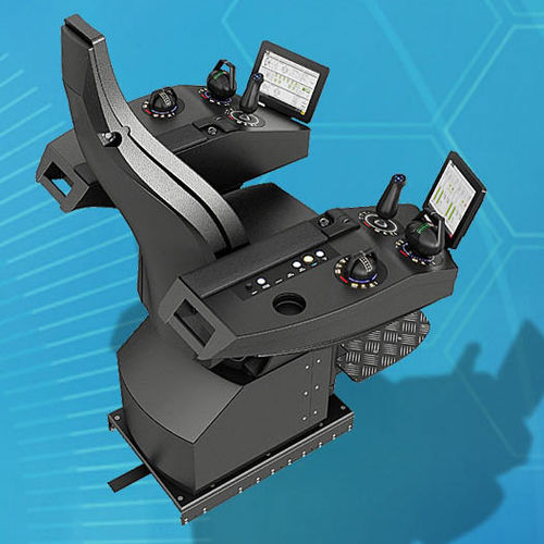operator seat / for ships / high-back / with armrests