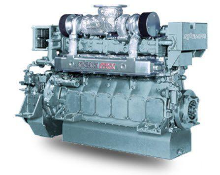 high-speed ship engine / diesel / Tier 1