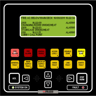 ship alarm system / fire