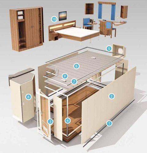 ship prefabricated cabin