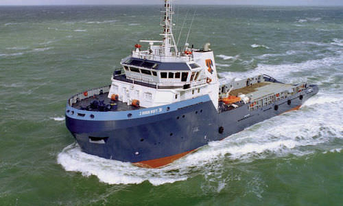 supply offshore support vessel / anchor-handling tugboat (AHT)