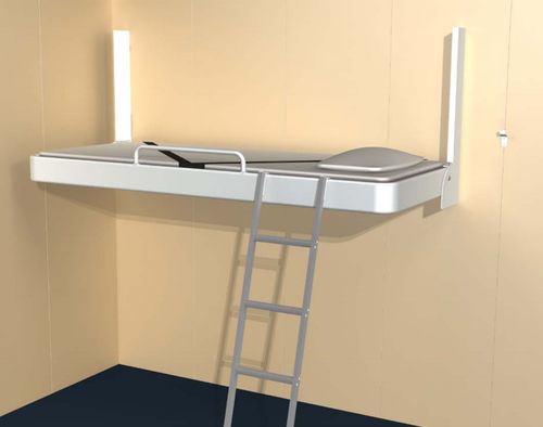 folding bed / for ships