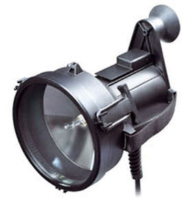 signaling floodlight / for ships / halogen / portable