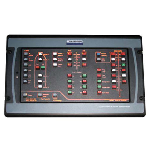 control system / for ships / navigation light