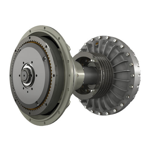 reduction gearbox with hydraulic clutch