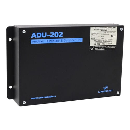 NMEA distribution amplifier / for ships / 2-channel