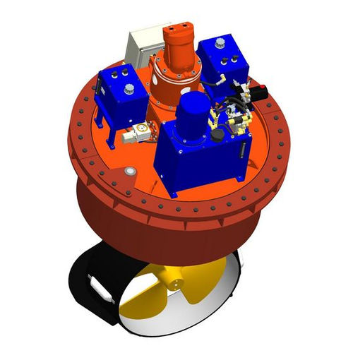 azimuth thruster / for ships / hydraulic