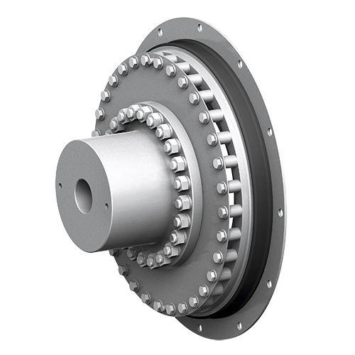 rigid mechanical coupling / for ships / for shafts