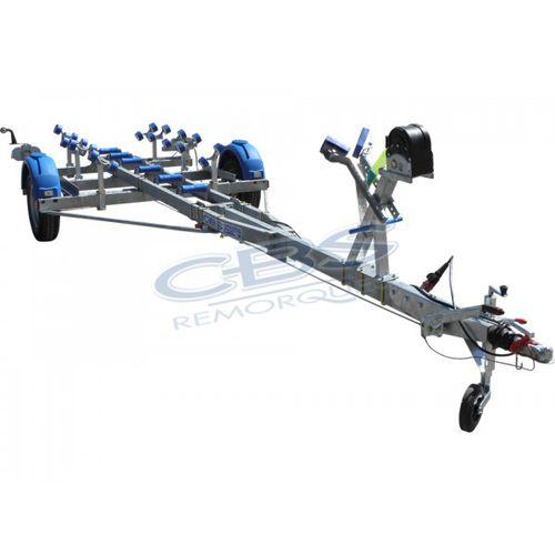 road trailer / for boats / roller