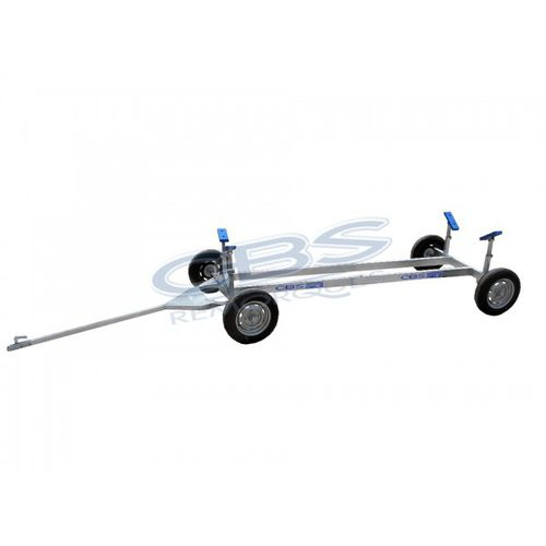 launching trolley / for power boats / towable
