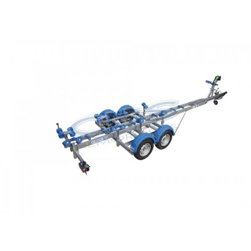 road trailer / for boats / roller