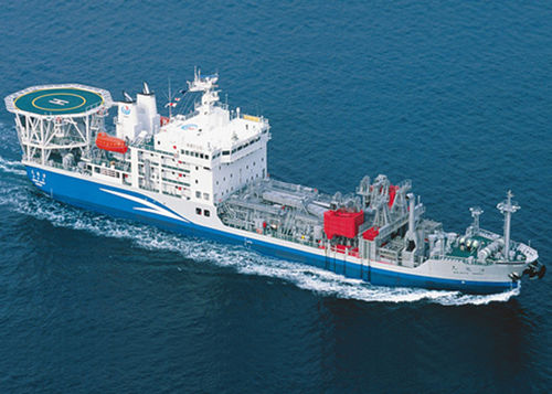 oil spill recovery pollution control ship