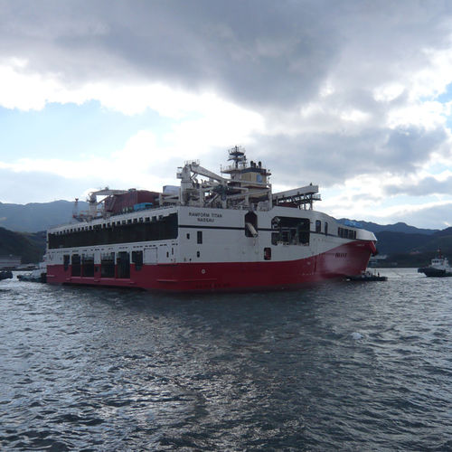 hydrographic survey ship
