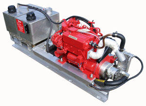 professional vessel hydraulic power unit / diesel engine