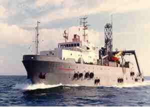 dive support vessel offshore support vessel