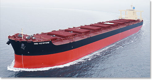 bulk carrier cargo ship / Capesize