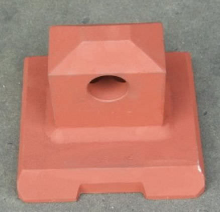 weld stacking cone / container lashing