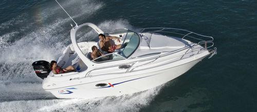 outboard cabin cruiser / open / sport-fishing / 6-person max.