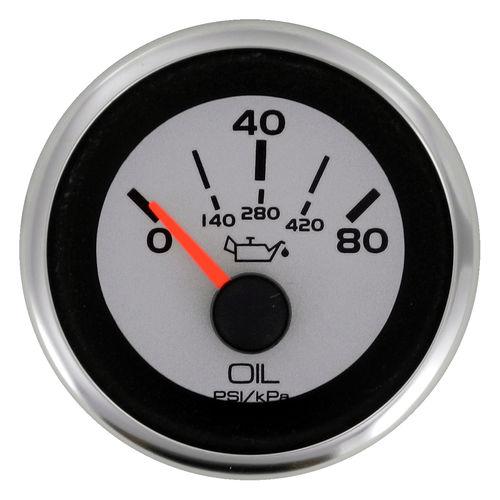 boat indicator / oil temperature / analog / engine