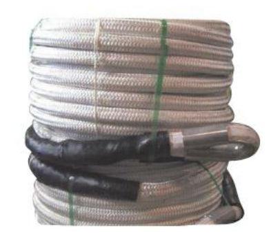 mooring rope / single braid / for ships / Dyneema® core