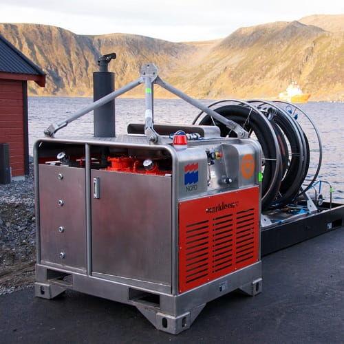 pollution control ship hydraulic power unit
