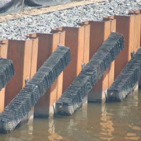 harbor fender / for pier piles