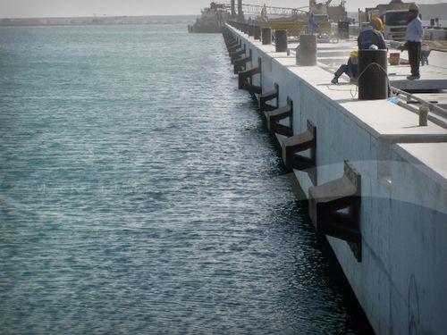 harbor fender / pier / arch