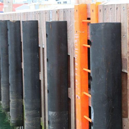 harbor fender / pier / D-shape