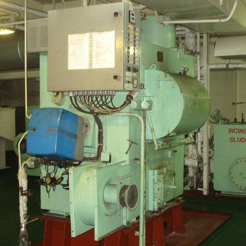 waste ship incinerator / sludge