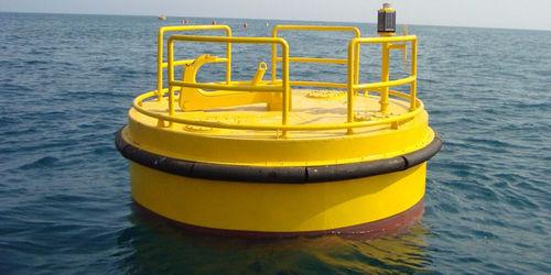 mooring buoy / rotation-molded