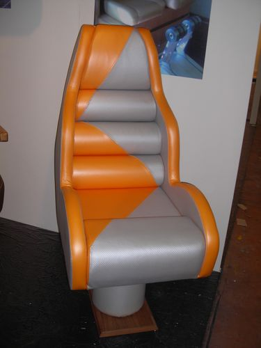 helm seat / for offshore power boats / fixed / high-back