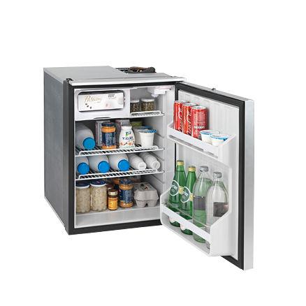 boat refrigerator-freezer / built-in / compressor