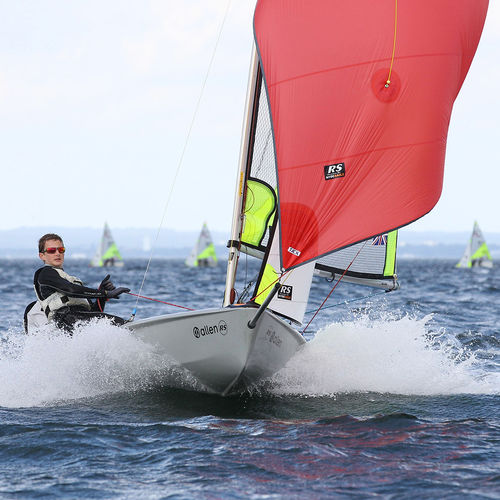 double-handed sailing dinghy / children's / regatta / recreational
