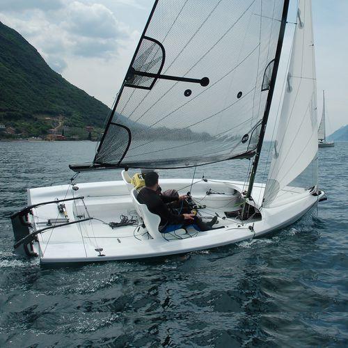 sport keelboat sailboat