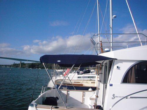 boat sun awning
