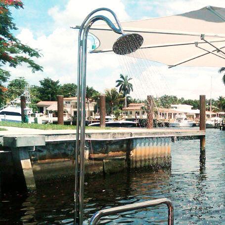 yacht shower / boat deck