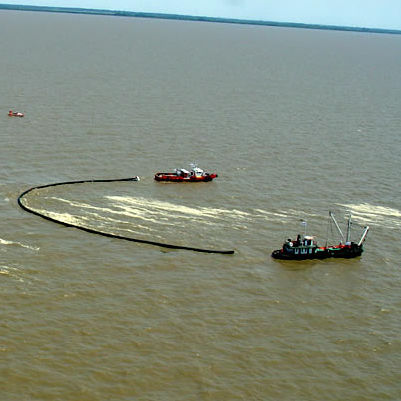 pollution control boom / inflatable / for harbors / river